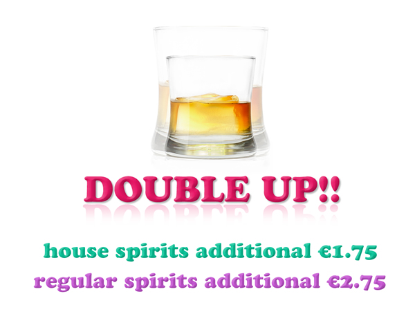 drinks double up offer