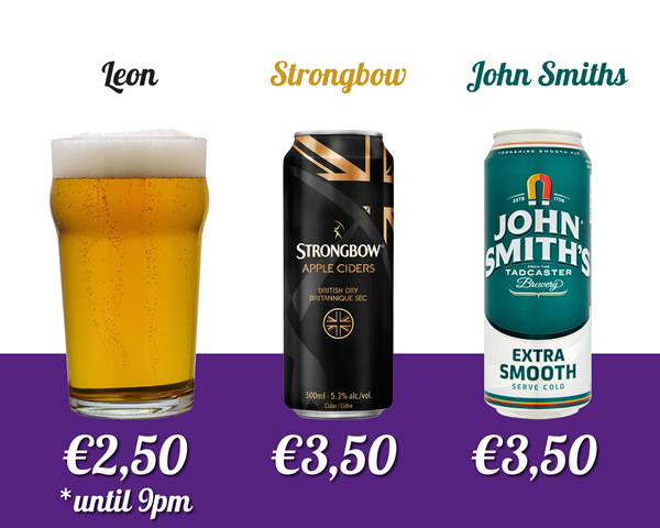 drinks special offers